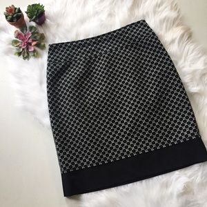 Ann Taylor Circle Dot Skirt